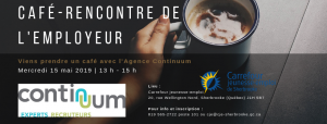 Agence de placement; Agence Continuum,; recrutement; CJE Sherbrooke