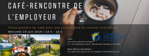 Tourisme; recrutement; CJE Sherbrooke